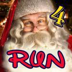 Santa Run Clause Driving Adventure Christmas New Year