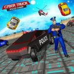 US Police CyberTruck Chase